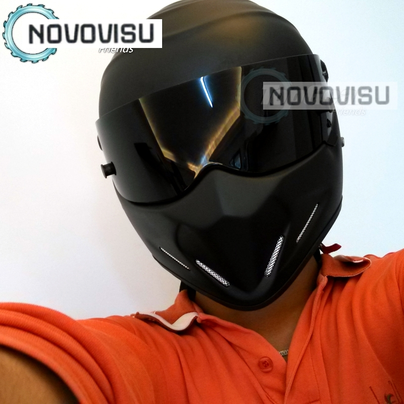 NOVOVISU TG Grand Tour The Stig Kask Motosiklet Motorbike Kartinq - Motosiklet aksesuarları və ehtiyat hissələri - Fotoqrafiya 3