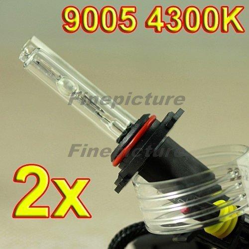 2x 9005 HB3 4300K Xenon Bulbs Car Headlight HID Lamps AC Free Shipping