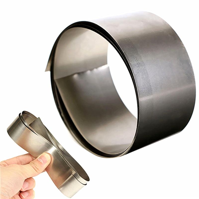 High Purity 99.96% Pure Nickel Ni Metal Foil Thin Sheet 0.1mm X 30mm X 1000mm Favorable