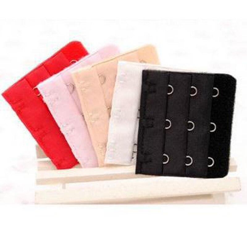 80807d33e4a06 3Pcs Soft Bra Extension Bra Strap Clasp Replace Underwear Women Intimates Bra  Extender 3 Hook 3