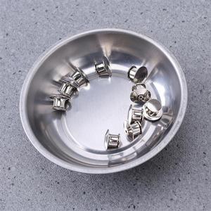 Image 5 - WINOMO 4 pièces 3 pouces en acier inoxydable porte outils rond pièces magnétiques plateau bol vis outils de stockage pièces porte plateau