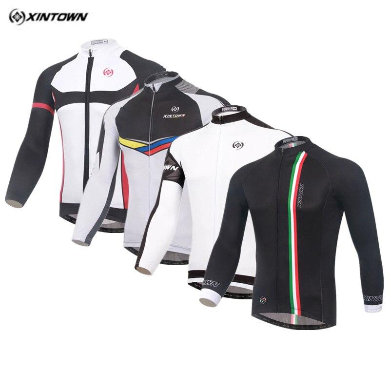 Xintown Pro Camisa de Ciclismo dos homens Respirável Roupas de Ciclismo  Manga Longa Bicicleta Do Esporte Jersey Corrida Roupas Bicicleta Ropa  ciclismo b66f66ec98