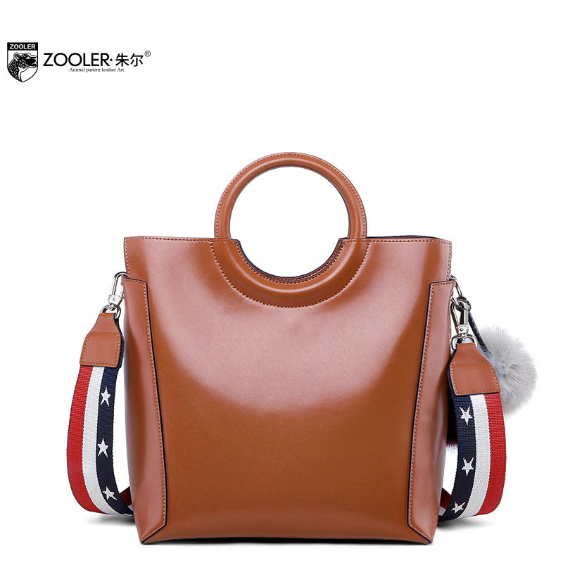 2018 Limited!luxury handbags women bags designer round handle genuine leather bag luxury handbag bolsa feminina ZOOLER  R-131 sales zooler brand genuine leather bag shoulder bags handbag luxury top women bag trapeze 2018 new bolsa feminina b115