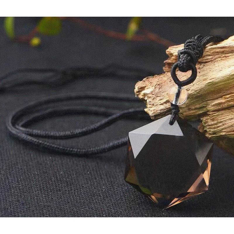 Spirit Pendulum Energy Shi Tianran Tea Water Crystal Will Satellite Transport Pendeloque Cut Otsuge Crystal Men Women Ornaments