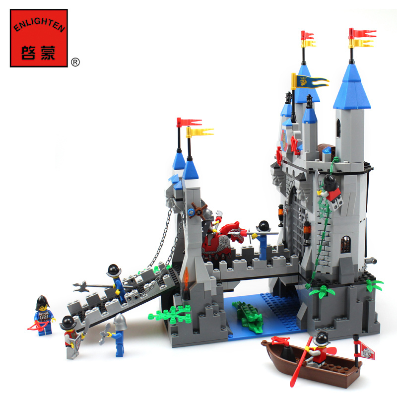 model building kits compatible with lego city castle Knights 3D blocks Educational model & building toys hobbies for children lepin 16008 4160pcs cinderella princess castle city model building block kid educational toys for gift compatible legoed 71040