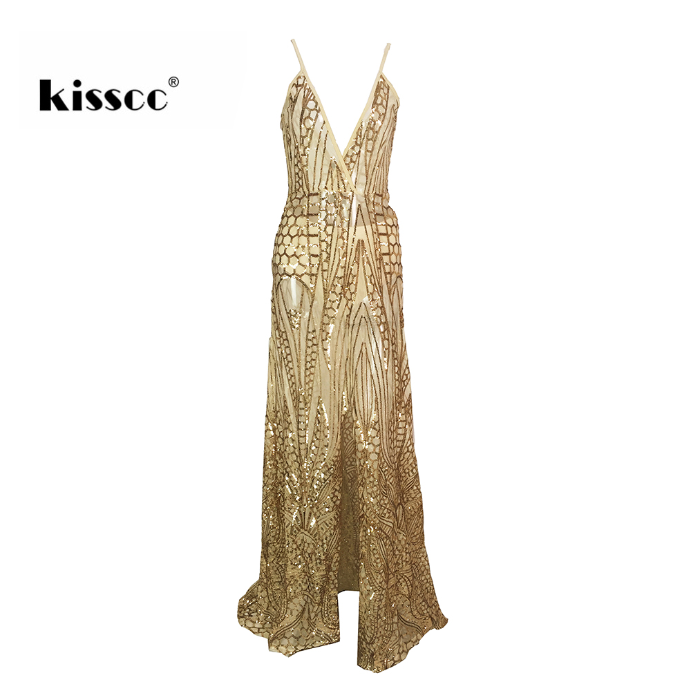 все цены на Sexy Sequined Floor Length Party Dress Backless Hollow Out Gold Sequins Maxi Dress Gown Floor Length Evening Party Dresses
