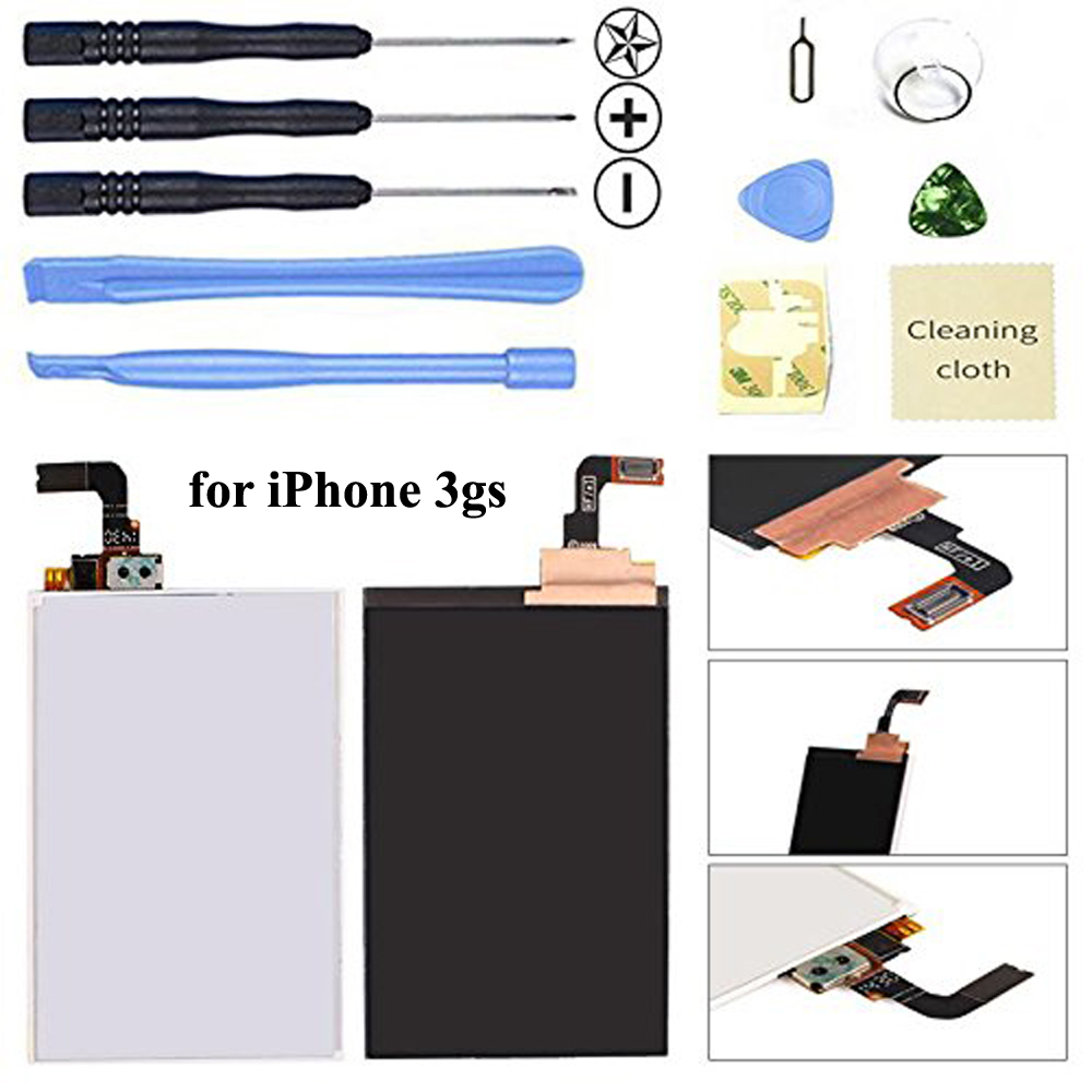 Running Camel LCD Screen Replacement Kit for Apple iPhone 3GS 3G-in Mobile Phone LCD Screens from Cellphones & Telecommunications