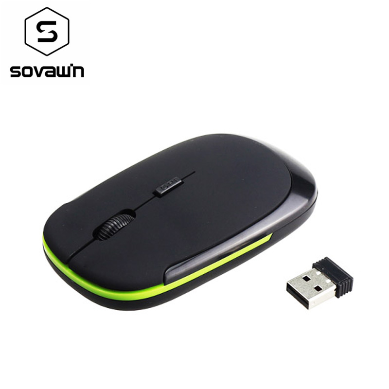 2.4GHz Wireless 1200DPI Arc Optical Gaming Mouse Mice+USB Receiver for PC Laptop