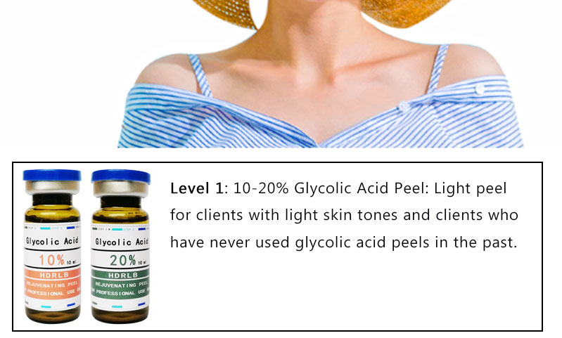 casca glicólico casca 10ml descascamento ácido glicólico