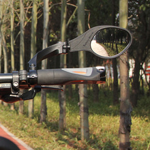 2 Style Hafny Bicycle Rear View Mirror MTB Bike Handlebar Side Safety Cycling Accessorie Scooter Eye Blind Spot