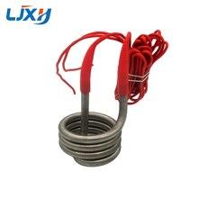 LJXH chauffe eau pour distillateur deau, élément chauffant 2500W/3000W/4500W pour leau, Tube chauffant à bobine à ressort 220V/380V pour seau