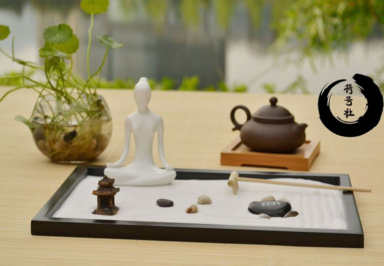 Yoga Gifts Unique Decoration Zen Sand Table On Aliexpress