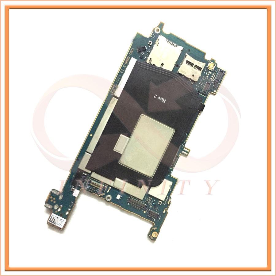 imágenes para En Stock 100% Uesd Para Sony Xperia ZL L35h tablero de la Placa Madre Prueba de Trabajo Smartphone Reemplazo de la Reparación