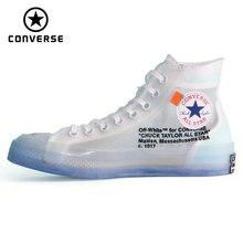 ce0e1de74a5 1970 Original Converse OFF WHITE lucency all star sapatos novos homens e  mulheres das sapatilhas unissex Sapatos de Skate Do Vin.