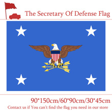 American The Department Of Defense Secretary Flag 90*150cm 60*90cm 3*5 Feet Custom Banner 30*45cm Car For Event