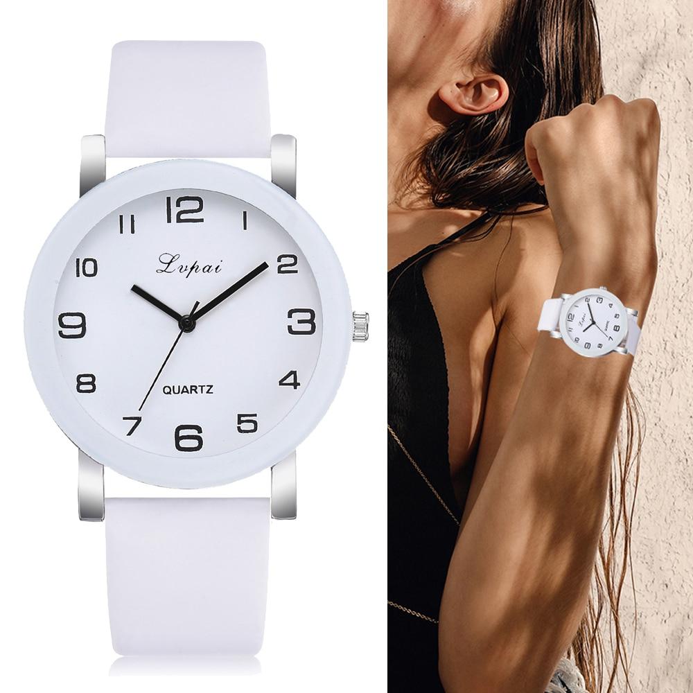 Lvpai Brand Quartz font b Watches b font For font b Women b font Luxury White