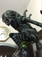 High Quality 1:4 Scale Alien Warrior Whole Body Large Statue Model Sculpture Crafts Recast 58cm height