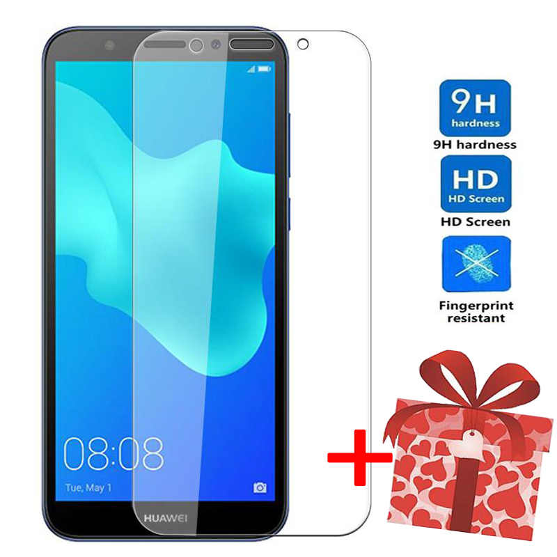 ZOKTEEC Tempered glass For Huawei Y7 Y5 Y6 Prime 2018 2017 screen protector on for Huawei Nova 2 2S Plus protective glass film