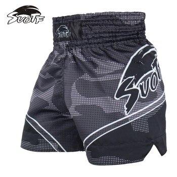2159089648e6 Pantalones cortos MMA hombre de boxeo kick pantalones de boxeo.  boosterblog. MMA kick pelea de boxeo troncos nueva tigre negro boxeo Muay  Thai ropa