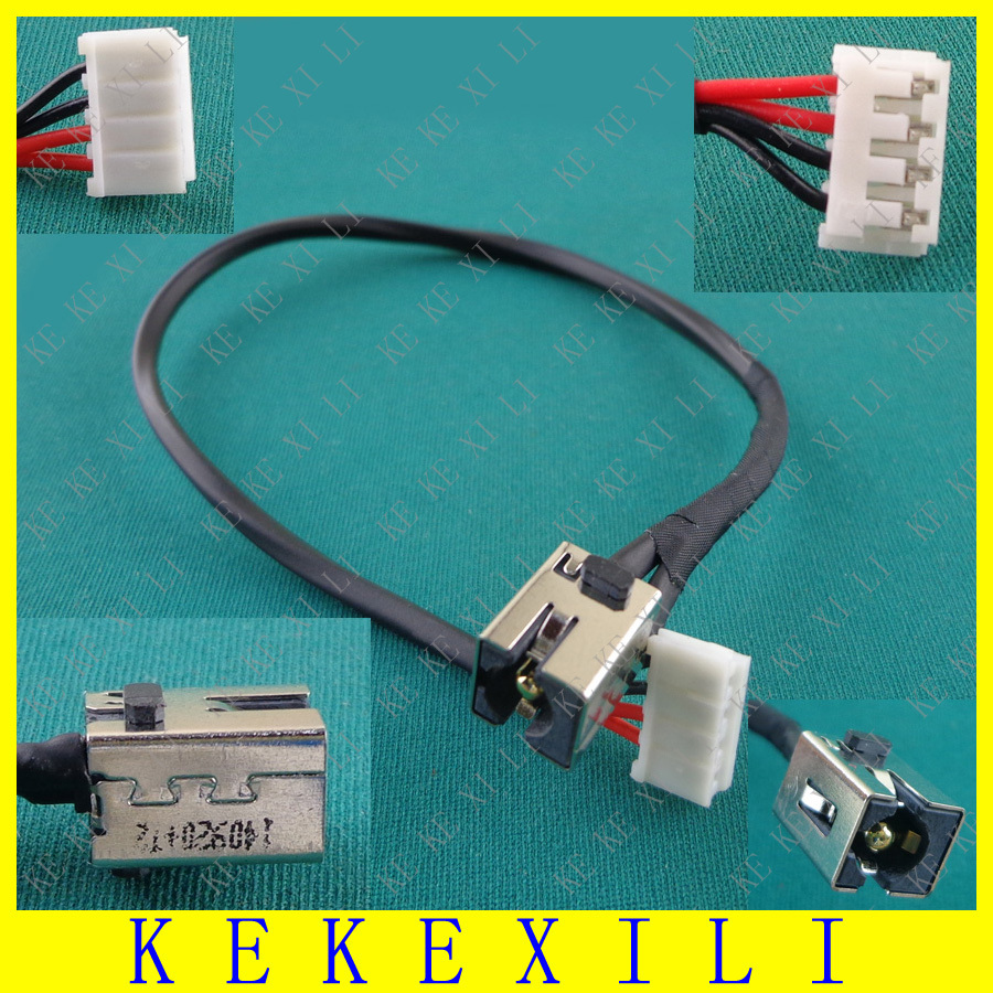 popular toshiba satellite dc power jack harness buy cheap for toshiba satellite c855 c855d c850 c850d laptop ac dc power jack port socket cable harness