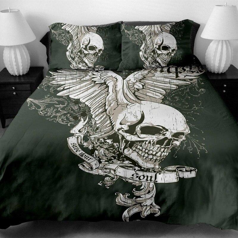 BeddingOutlet Mandala elefante funda de edredón con almohada negro ...