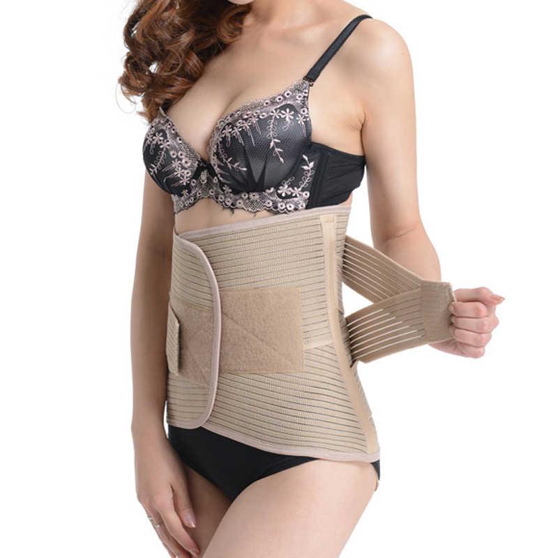 f80a5d89472 Adjustable Slimming Exercise Belt Women and Men Postnatal Abdomen Bandage Waist  Support Plus Size Elasticity Bodybuild