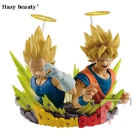 Hazy Beauty Original Dragon Ball Z DBZ ComFiguration Goku And Vegeta Vol 02 PVC Figure Model