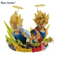 Hazy Beauty Original Dragon Ball Z DBZ ComFiguration Goku And Vegeta Vol 02 PVC Figure Model