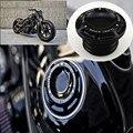 Aluminium Legierung Raue Crafts Aluminium Kraftstoff Gas Öl Kappe Für Harley Sportster Dyna Touring Softail 1996 2018|Abdeckungen & dekorative Formteile|Kraftfahrzeuge und Motorräder -