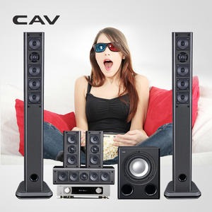 CAV Home-Theatre-System Music-Center Surround-Sound Bluetooth Smart 3D 1 IMAX Multi-5.1