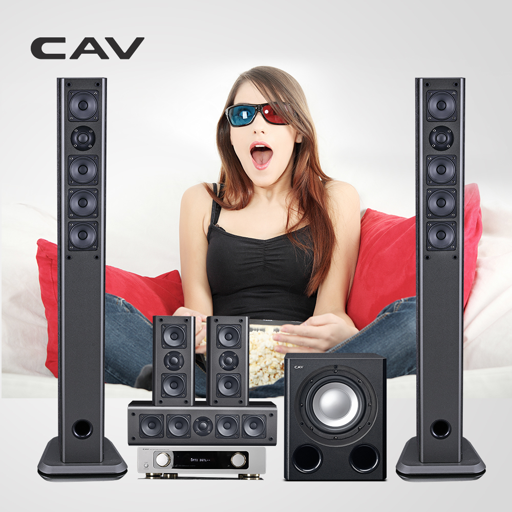 CAV IMAX Home Theater 5.1 System Smart Bluetooth Multi 5.1 Surround Sound Home Theatre System 3D Surround Sound Music Center