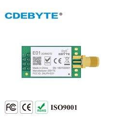 CDEBYTE E01-2G4M27D 27dBm nRF24L01 PA LNA Long Range Transceiver SPI 2.4GHz nRF24L01P 2.4g Wireless rf Transmitter and Receiver