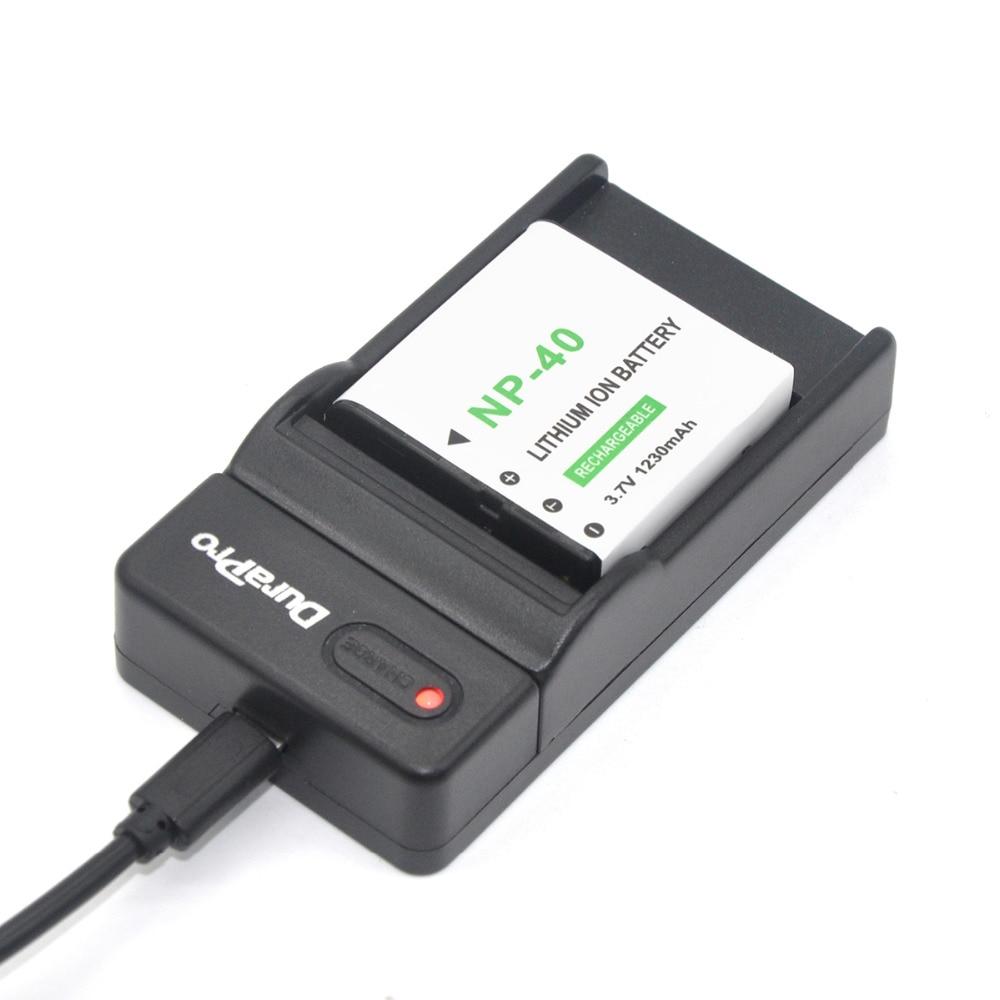1pcs NP-40 NP 40 NP40 Rechargeable Li-ion Battery + <font><b>USB</b></font> <font><b>Charger</b></font> for Casio EX-Z400 FC100 FC150 FC160S P505 P600 P700 Z300 Z600 EX