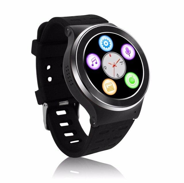 S99 ZGPAX MTK6580 4 ядра 3 г Смарт-часы Android 5.1 с 8 ГБ номер 5.0 МП Камера GPS Wi-Fi Bluetooth V4.0 шагомер сердечного ритма