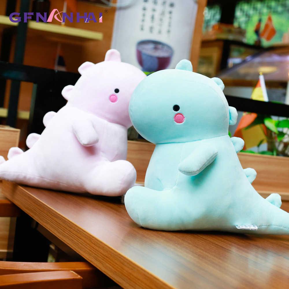 Chegam novas 40/50 cm de Dinossauro Brinquedos De Pelúcia Kawaii Stuffed Boneca Animal Macio para Crianças Crianças Bebê Dos Desenhos Animados Brinquedo presente clássico