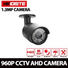 HKIXDISTE 1.3MP 2500TVL High Resolution 36pcs LED Waterproof Camera With IR-CUT Filter AHD CCTV 960P Camera