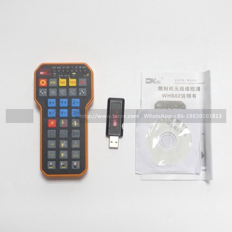 Nc studio USB Maniglia remota senza fili con impugnatura di controllo - Macchine utensili e accessori - Fotografia 4
