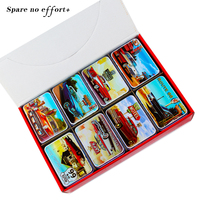 Macaron Cookies Box Metal Tin Storage Box Mac Makeup Cosmetic Organizer Rectangle Case For Tea Pill
