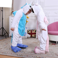 New Baby Girls Children S Pajamas Hooded Autumn Winter Children Flannel Animal Stitch Cartoon Leopard Pajamas