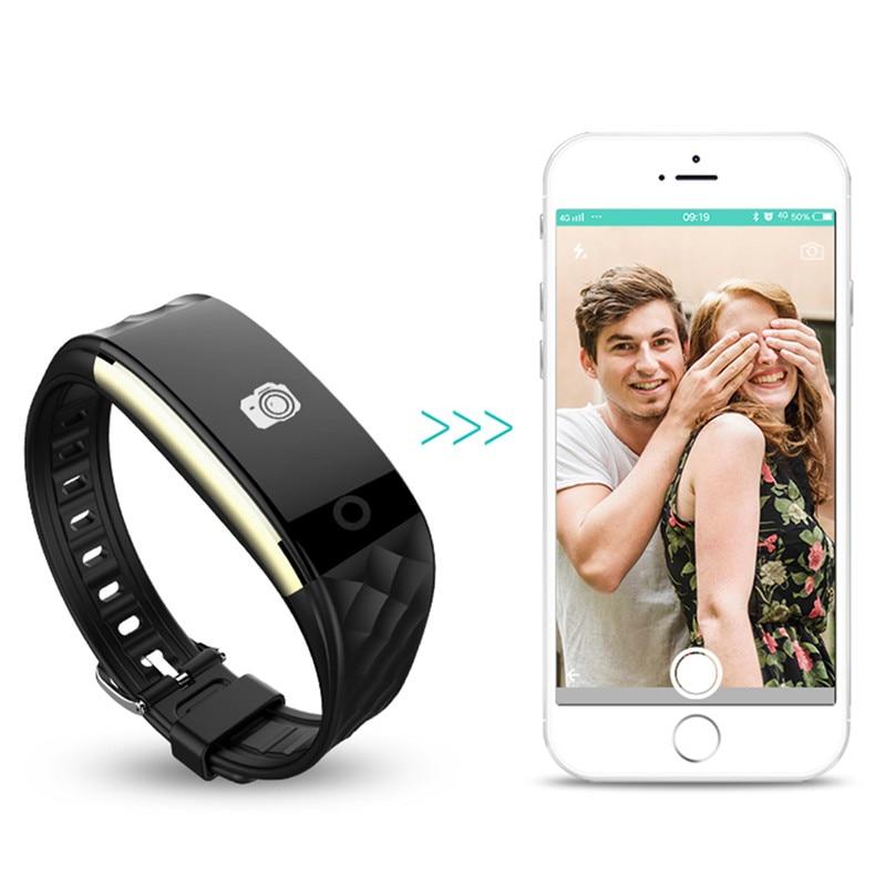 Smart Watch Naiste Meeste Fitness Smart Käevõru Band GPS Bluetooth - Meeste käekellad - Foto 4