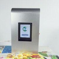 Ozono generador máquina TWO002 alimentos agua vegetales frutas fresher ozonizador