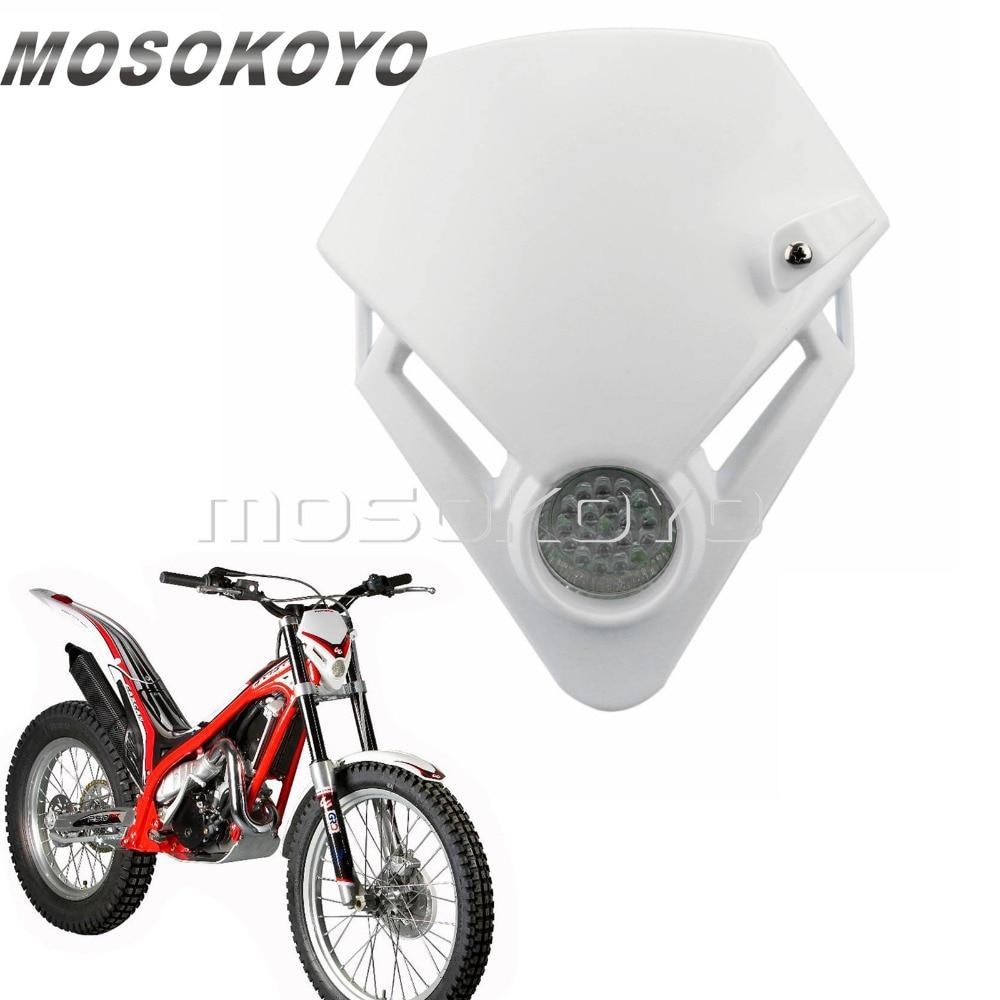 LED Motorcycle Trial Enduro Motocross Headlight Version For Gas Gas TXT Pro EC 280 125 250 300 White Headlamp