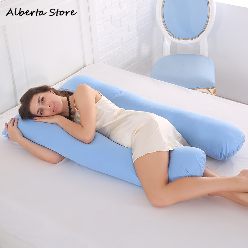 Pregnancy Pregnant Woman Pillow Multifunction U-shaped Pillow 6 Colours Can Sit & Lie Anti-overgrowth Baby Feeding 2019 New With Traditional Methods Mother & Kids