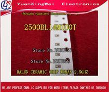 Бесплатная доставка! 10 шт./лот 2500BL14M100T 2500BL14M100 балун керамический чип WIMAX 2,5 ггц SMD