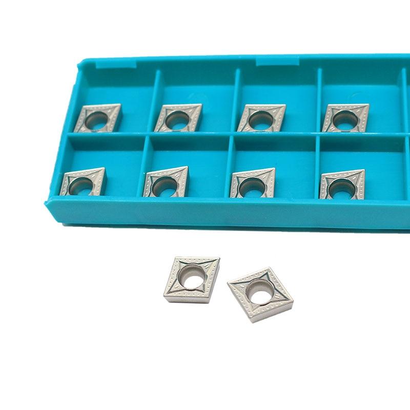 10 PZ CCMT09T304 MT CT3000 Utensili per tornitura interna Cermet - Macchine utensili e accessori - Fotografia 1