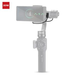 Image 1 - ZHIYUN resmi şarj kablosu aksesuarları şarj için iPhone/Android akıllı telefonlar için el sabitleyici Gimbal Smooth4/Q2