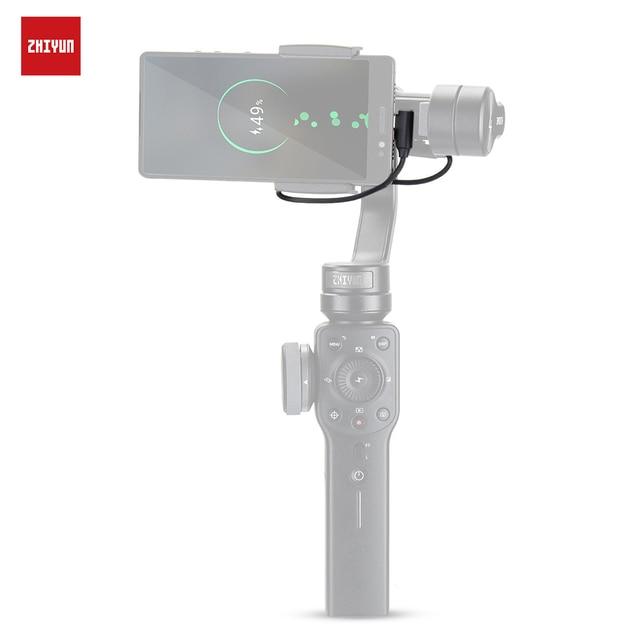 ZHIYUN resmi şarj kablosu aksesuarları şarj için iPhone/Android akıllı telefonlar için el sabitleyici Gimbal Smooth4/Q2