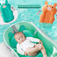AAG Baby Bath Tub Shower Cushion Childish Newborn Bathtub Cotton Safety Non-Slip Bed Seat Babies Support Pad Mat