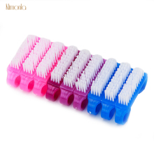 50pcs Professional Nail Art Cleaning Tools For UV Gel Brush Soft Remover Dust Brushes With Handle Accessories