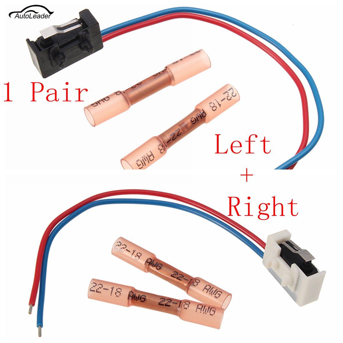 2pcs Left Right Door Lock Micro Switch For Vw Passt B5 Golf 4 Mk4 Wiring 2 Pz Sinistra Destra Serratura Della Porta Interruttore Per